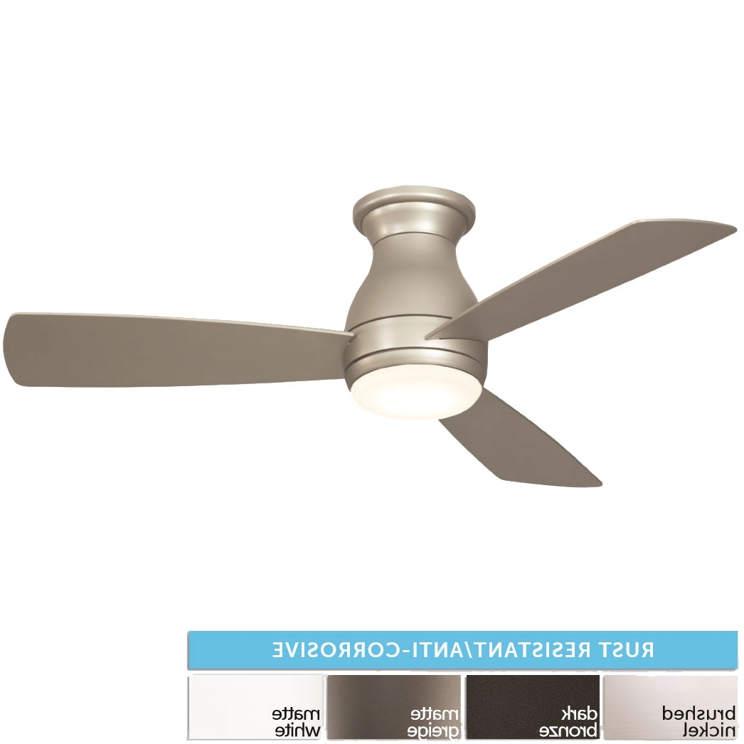 """Widely Used Fanimation Fps8332 Hugh Led Interior / Exterior 44"""" Home Ceiling Fan In Rust Proof Outdoor Ceiling Fans (View 19 of 20)"""