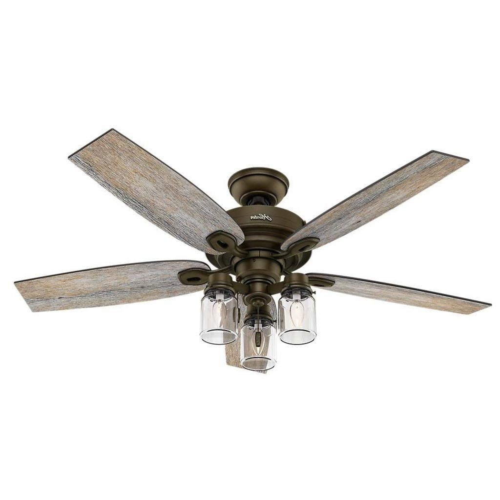 Widely Used Metal Outdoor Ceiling Fans With Light With Outdoor Ceiling Fans Light Kit Included (View 12 of 20)