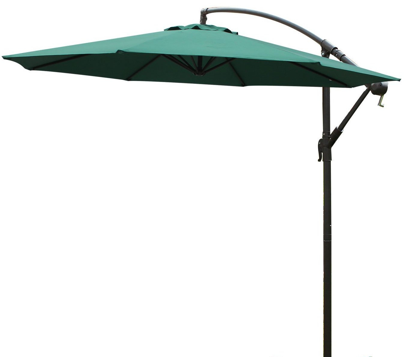 10' Cantilever Umbrella Intended For Current Tallulah Sunshade Hanging Outdoor Cantilever Umbrellas (View 1 of 20)