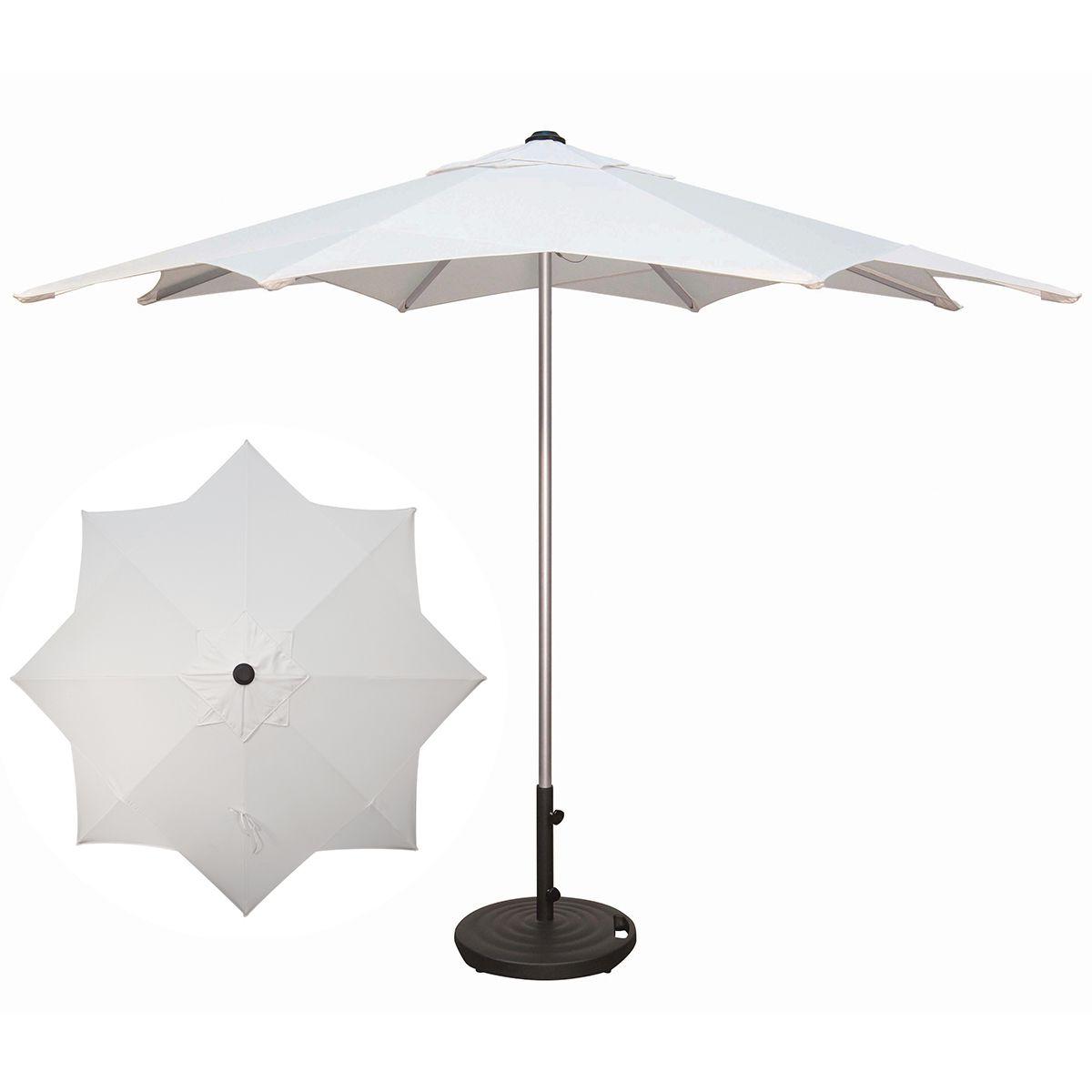 10' Starburst Aluminum Umbrella In (View 14 of 20)