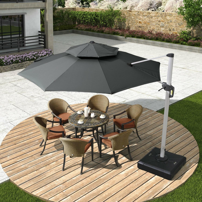 12 Cantilever Umbrella – Clubeserradeaires With Regard To Most Current Fazeley  Rectangular Cantilever Umbrellas (View 2 of 20)