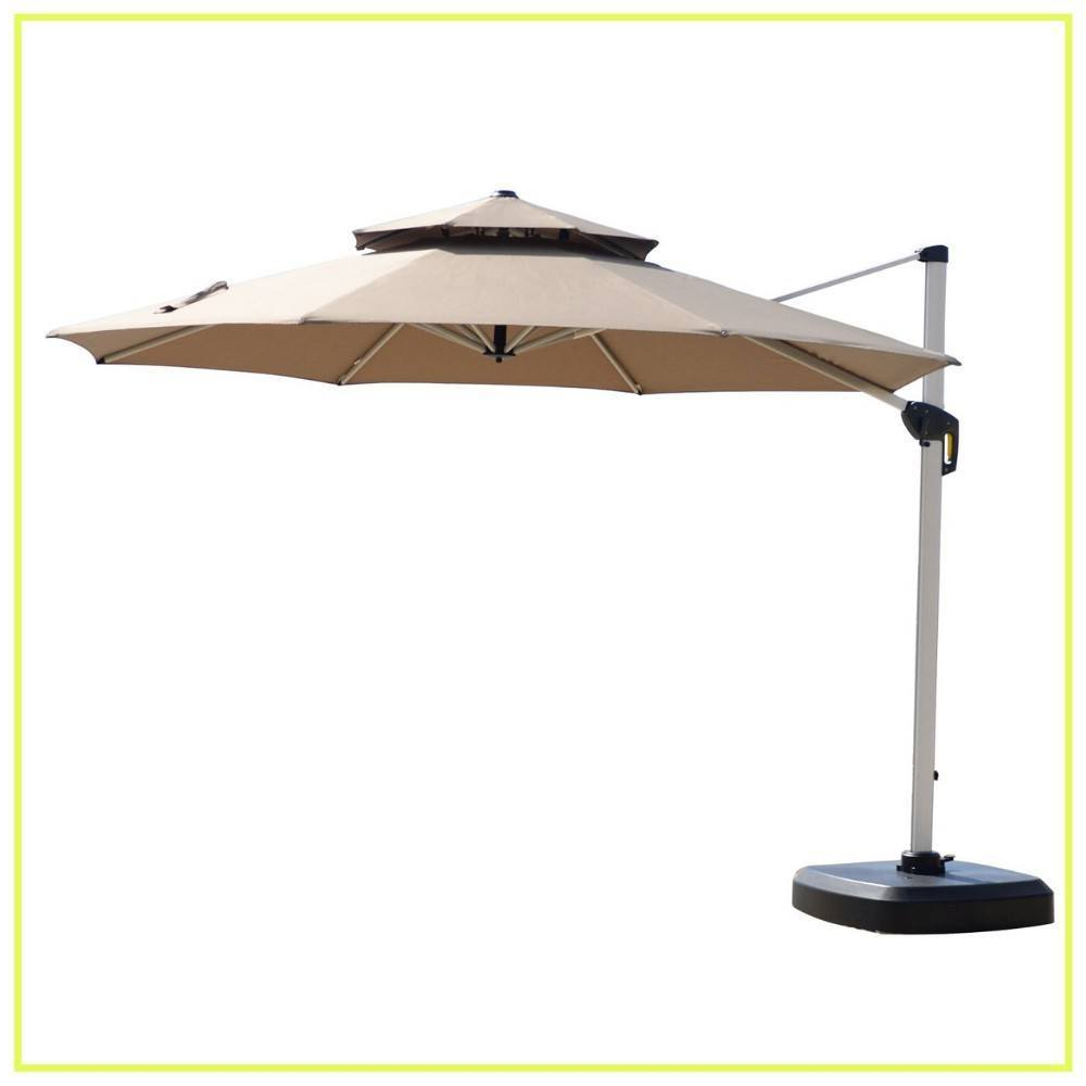 2019 10 Best Cantilever Umbrellas In 2019: A Complete Guide And Reviews Inside Caravelle Square Market Sunbrella Umbrellas (Gallery 19 of 20)
