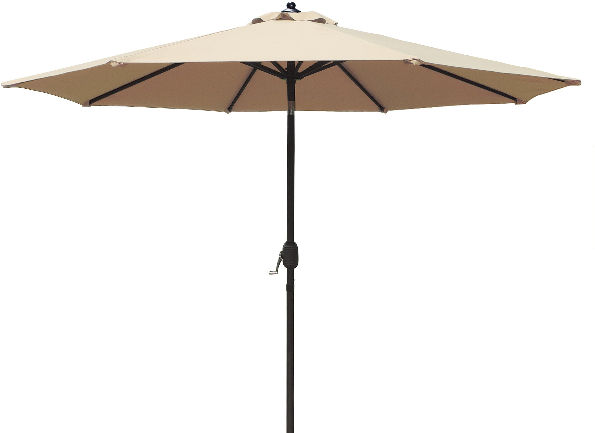 2019 9' Market Umbrella Within Cannock Market Umbrellas (View 14 of 20)