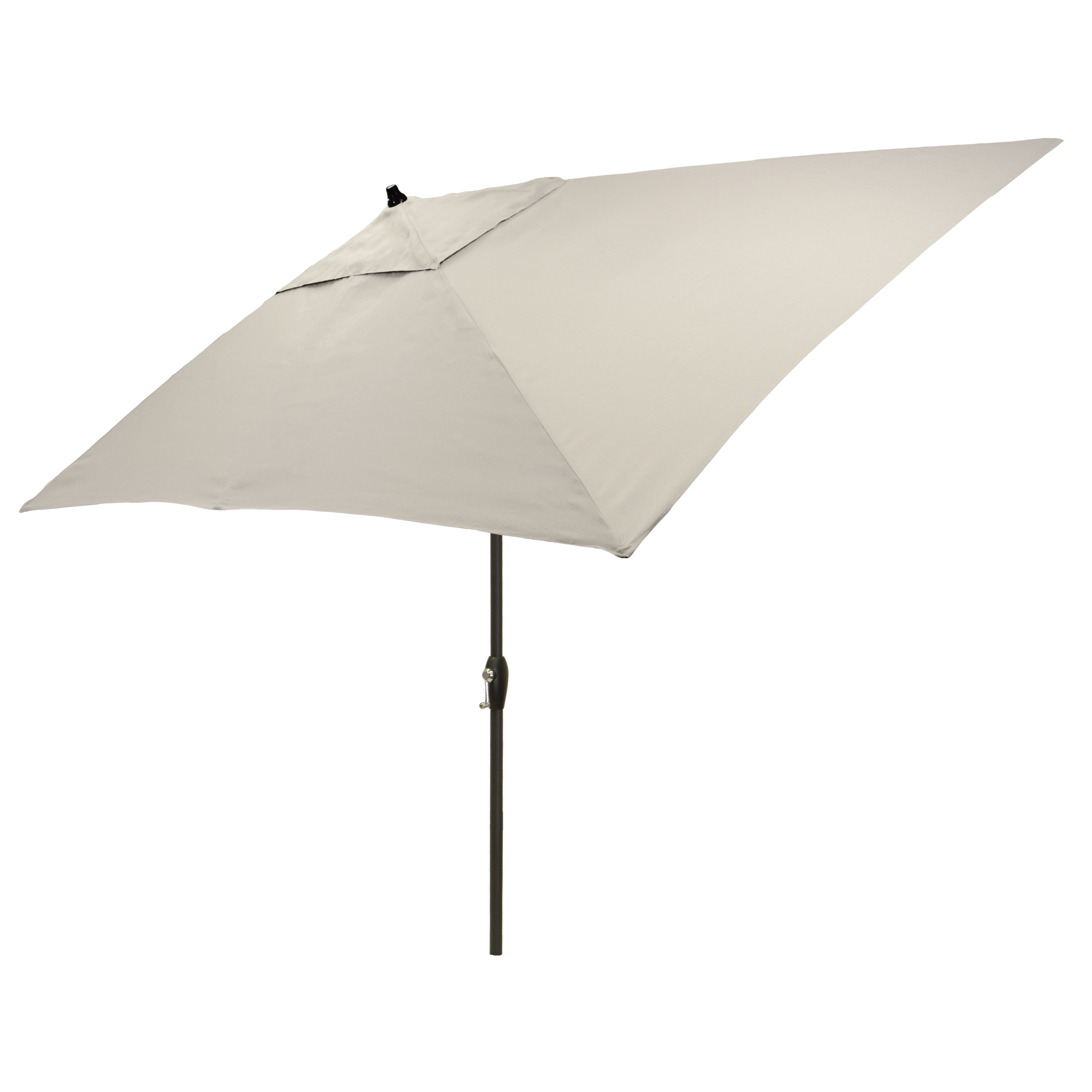 2019 Delaplaine Market Umbrellas Pertaining To Hulme Solid 6.5' X 10' Rectangular Market Umbrella (Gallery 19 of 20)