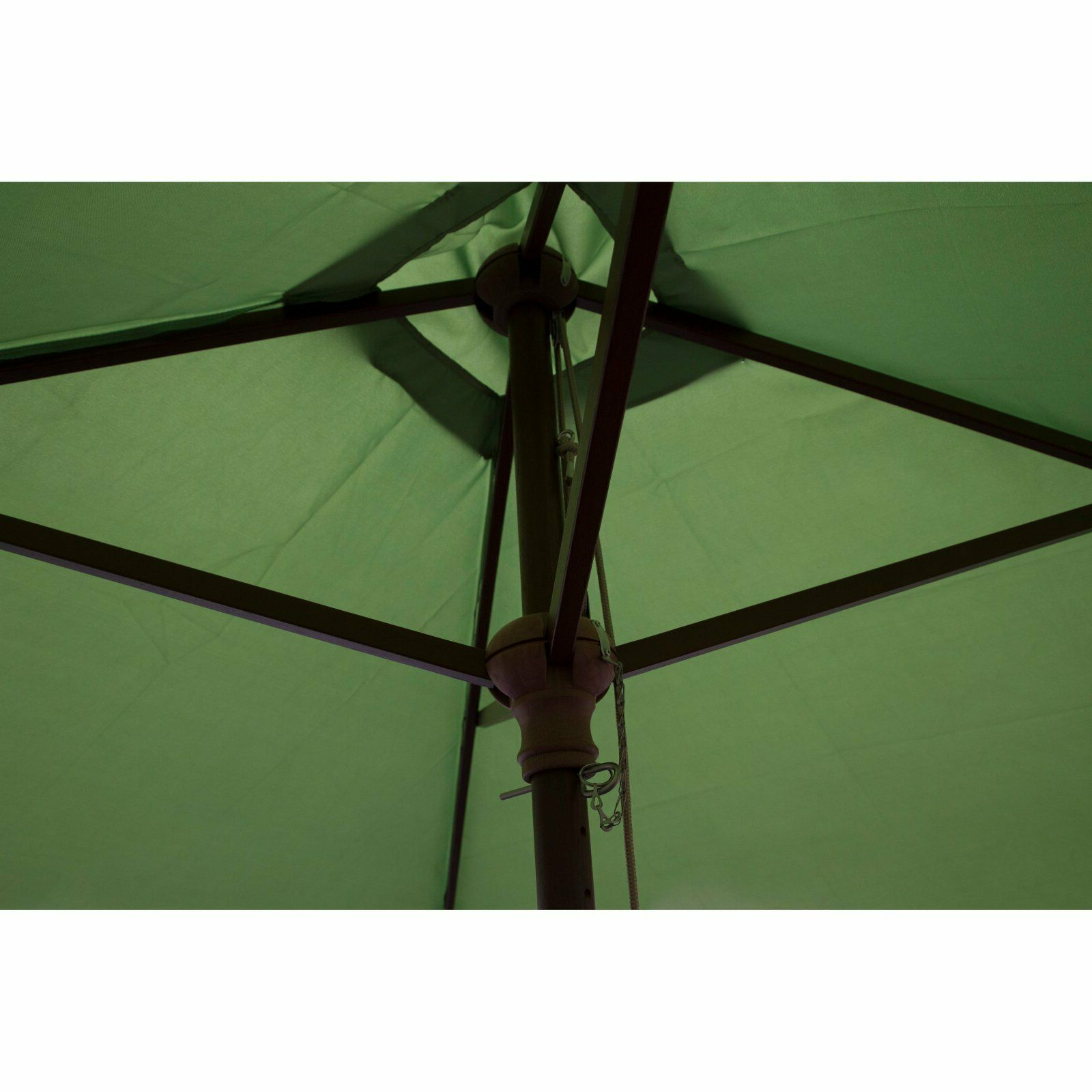 2019 Destination Gear Square Market Umbrellas Pertaining To Destinationgear 6.5 Ft. Wood Classic Square Patio Umbrella (Gallery 9 of 20)