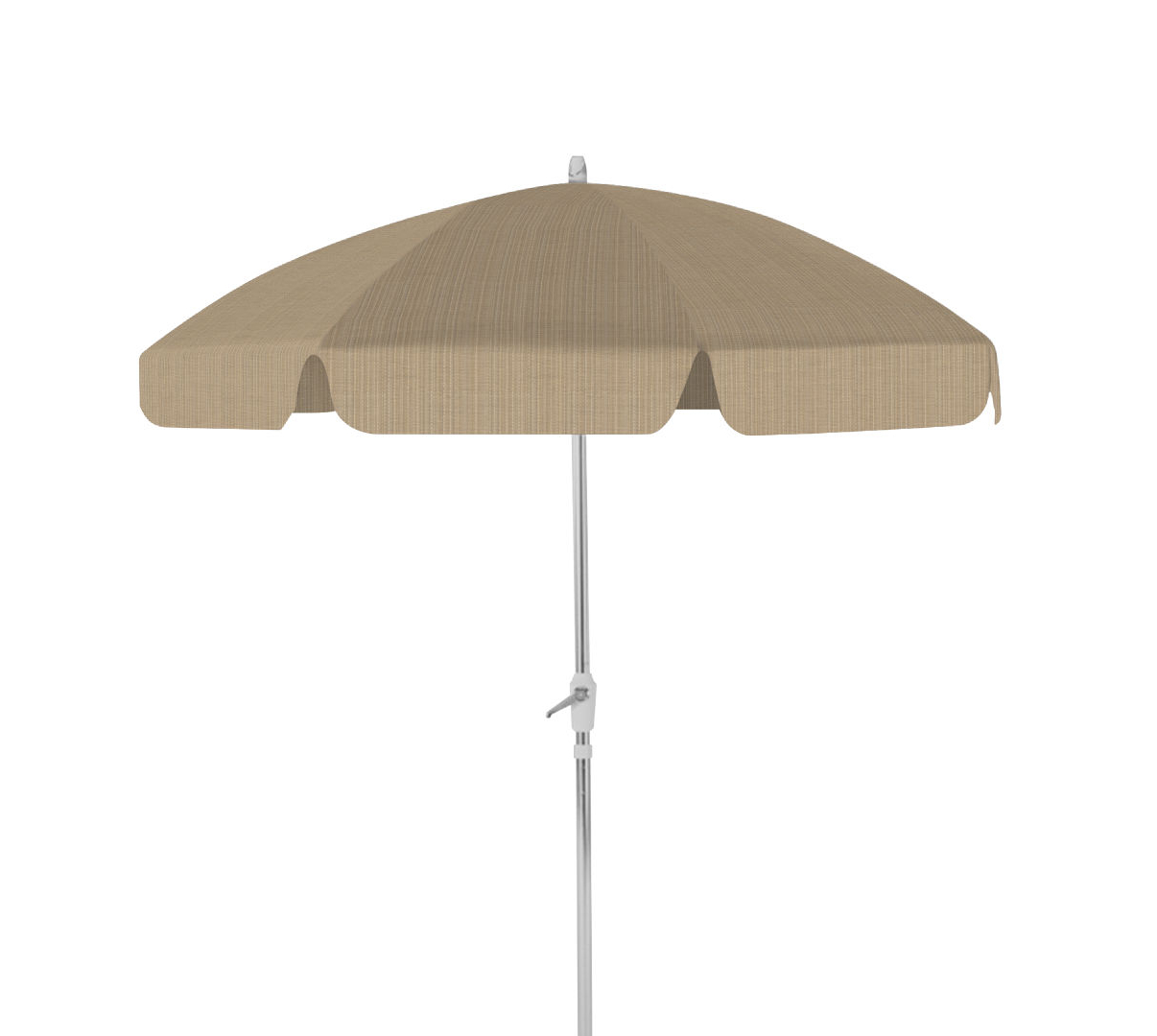 2019 Drape Umbrellas Throughout Drape Umbrella 7 1/2' 8 Rib Drape Umbrella With Tilttelescope Casual (View 3 of 20)