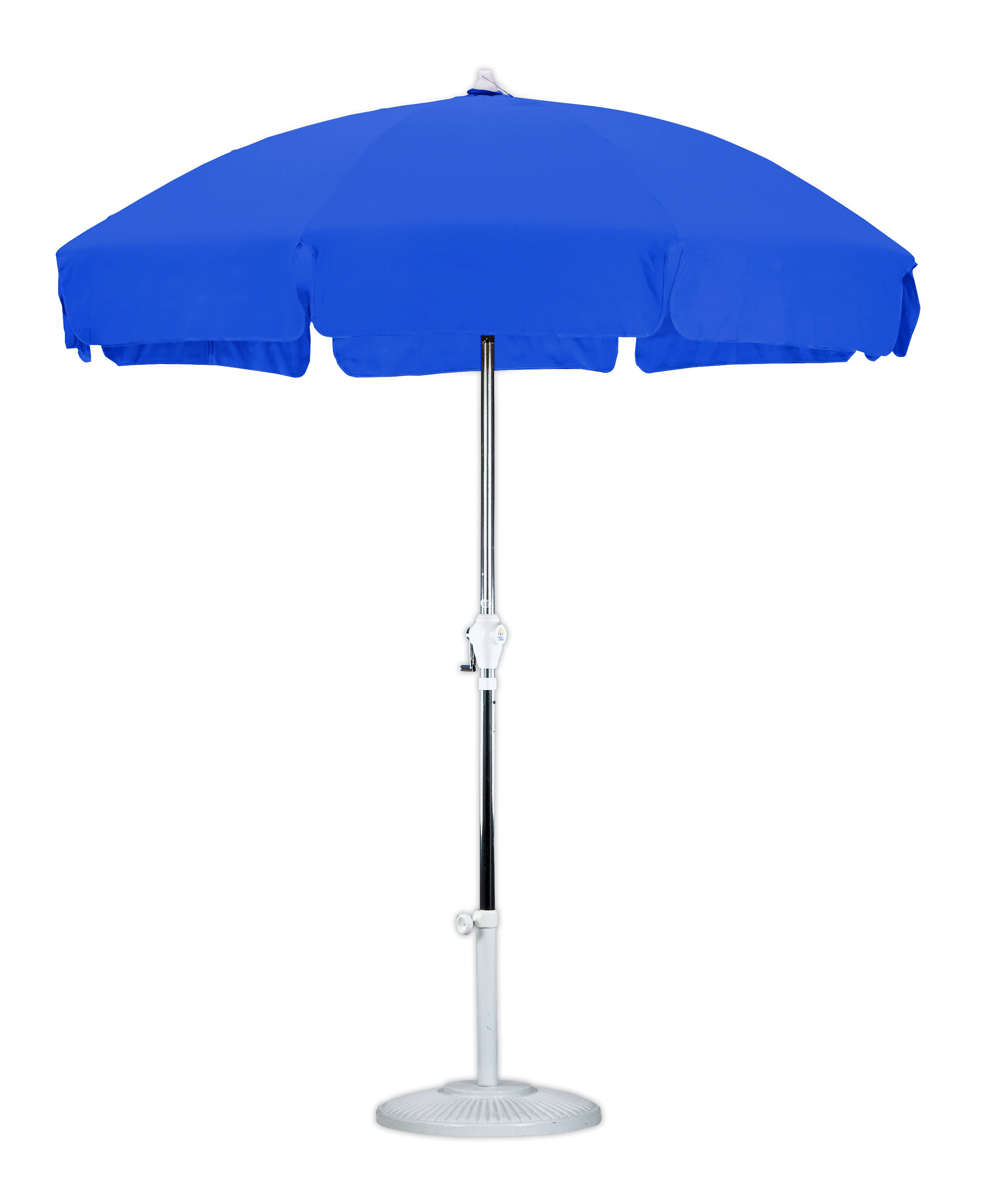 2019 Kerner Steel Beach Umbrellas Regarding 7.5' Market Umbrella (Gallery 9 of 20)