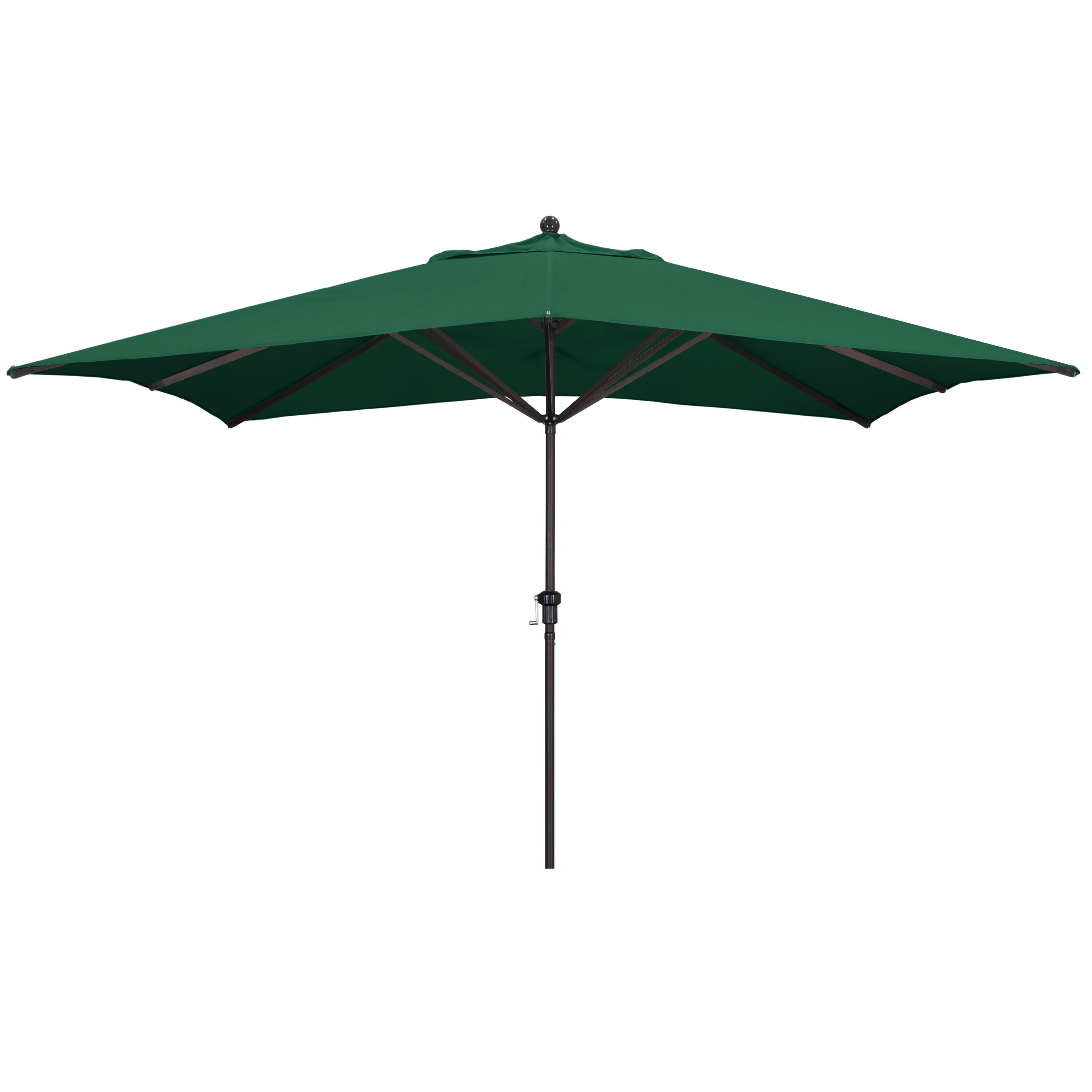 2020 Carlton 11' X 8' Rectangular Market Umbrella Intended For Bonview Rectangular Market Umbrellas (View 13 of 20)
