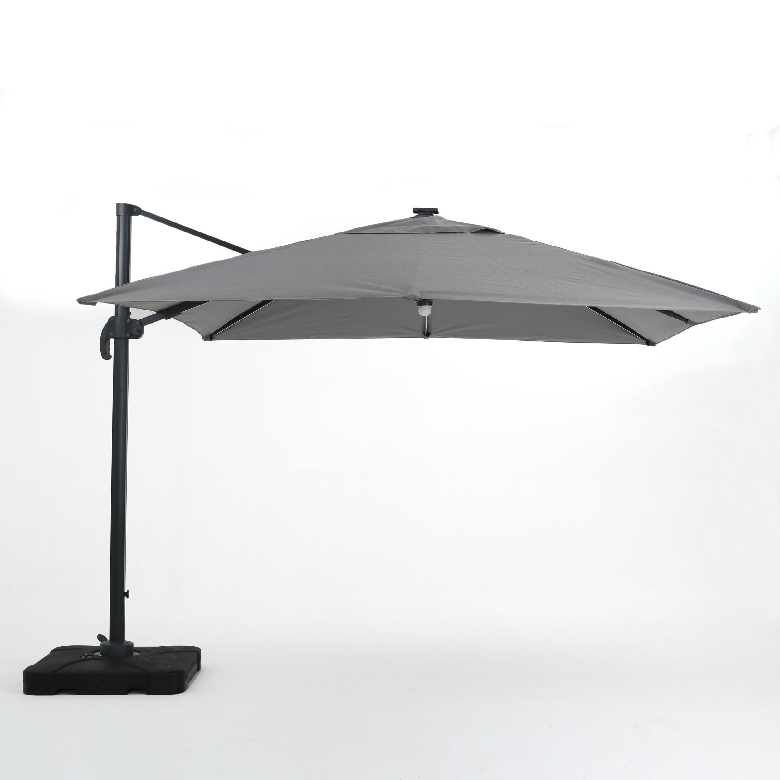 2020 Gemmenne Square Cantilever Umbrellas Intended For Jendayi Square Cantilever Umbrella (View 4 of 20)