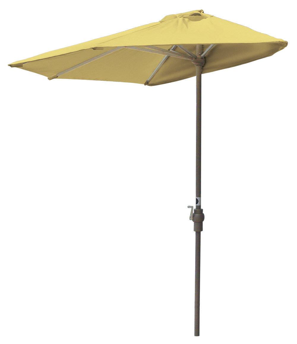 2020 Monty 7.5' Market Umbrella Regarding Sheehan Half Market Umbrellas (Gallery 6 of 20)