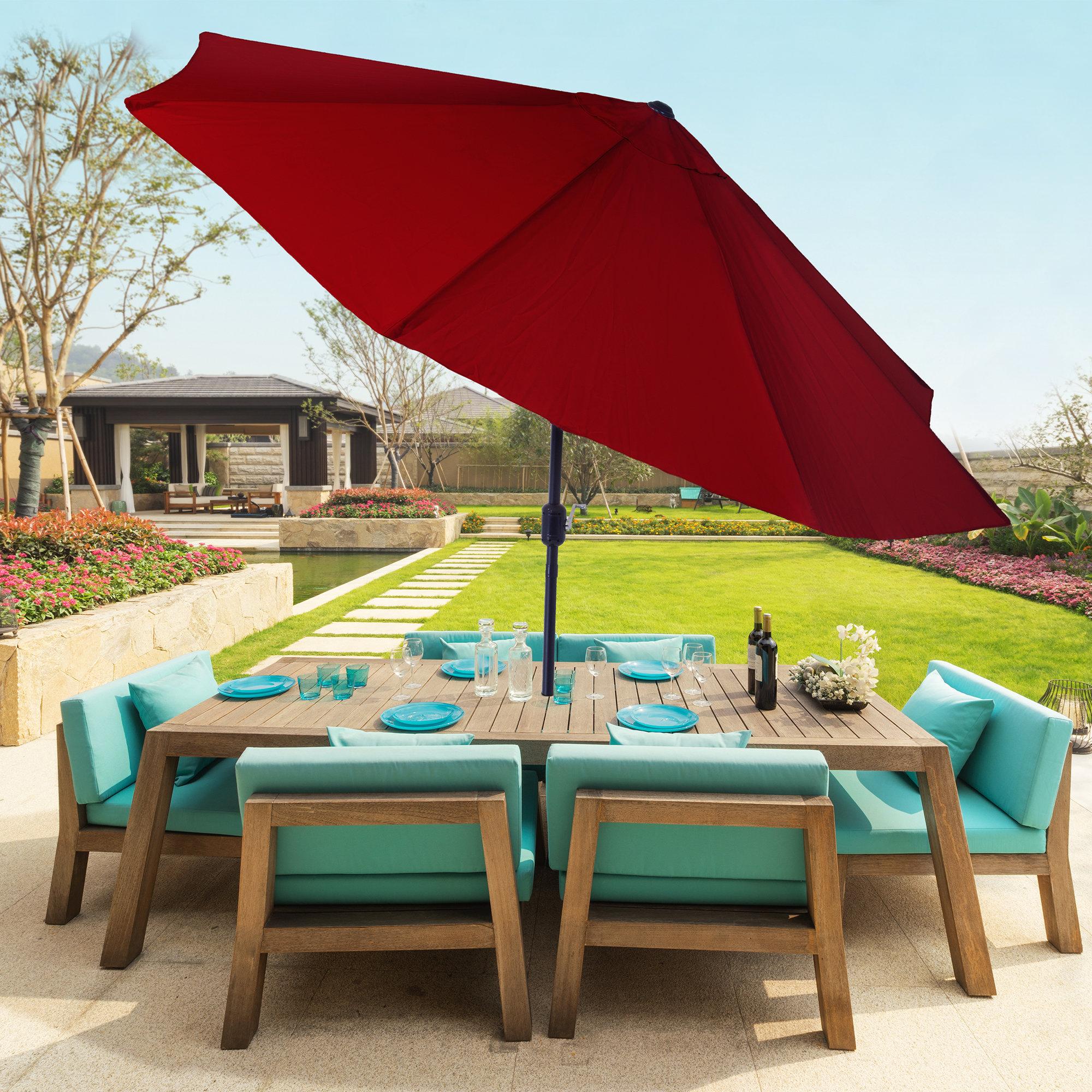 2020 Mullaney Beachcrest Home Market Umbrellas Pertaining To Beachcrest Home Kelton 10' Market Umbrella (Gallery 19 of 20)