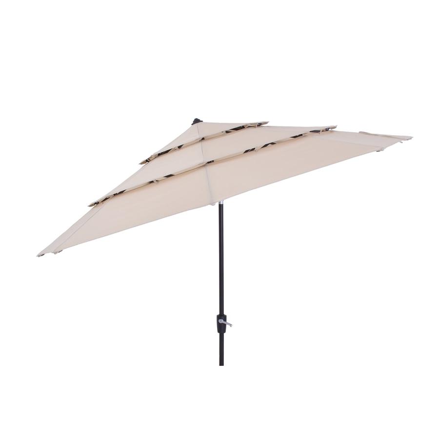 2020 Patio Umbrellas At Lowes Within Solid Market Umbrellas (Gallery 3 of 20)