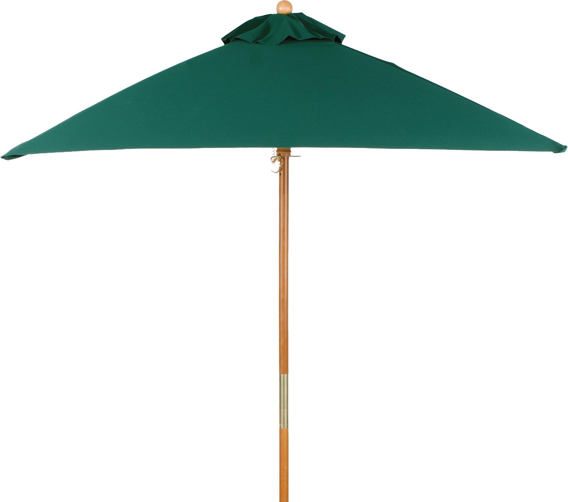 6' Oxford Square Market Umbrella With Regard To 2019 Maglione Fabric 4Cantilever Umbrellas (Gallery 12 of 20)