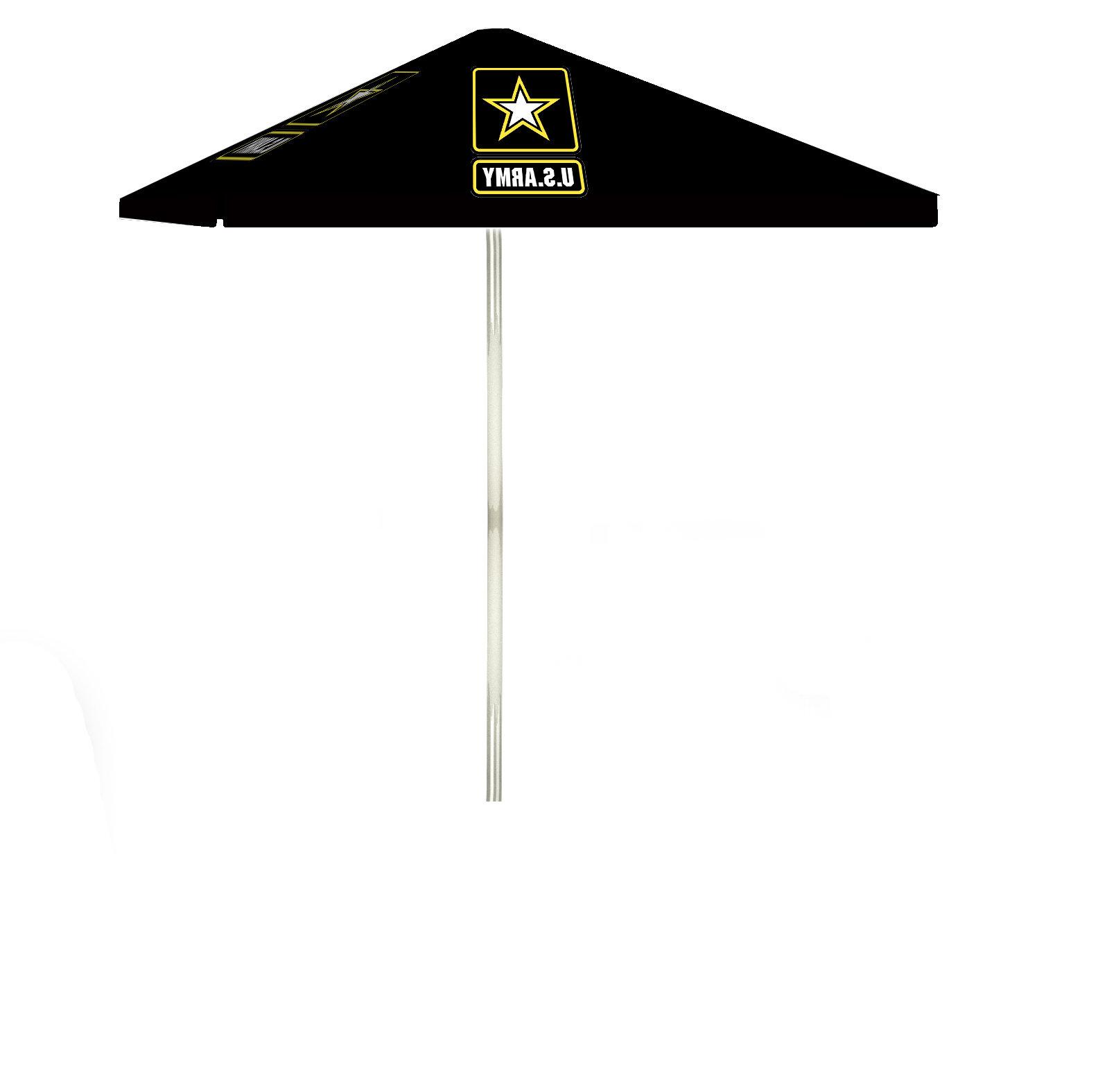 6' Square Market Umbrella In Fashionable Hatten Market Umbrellas (View 10 of 20)