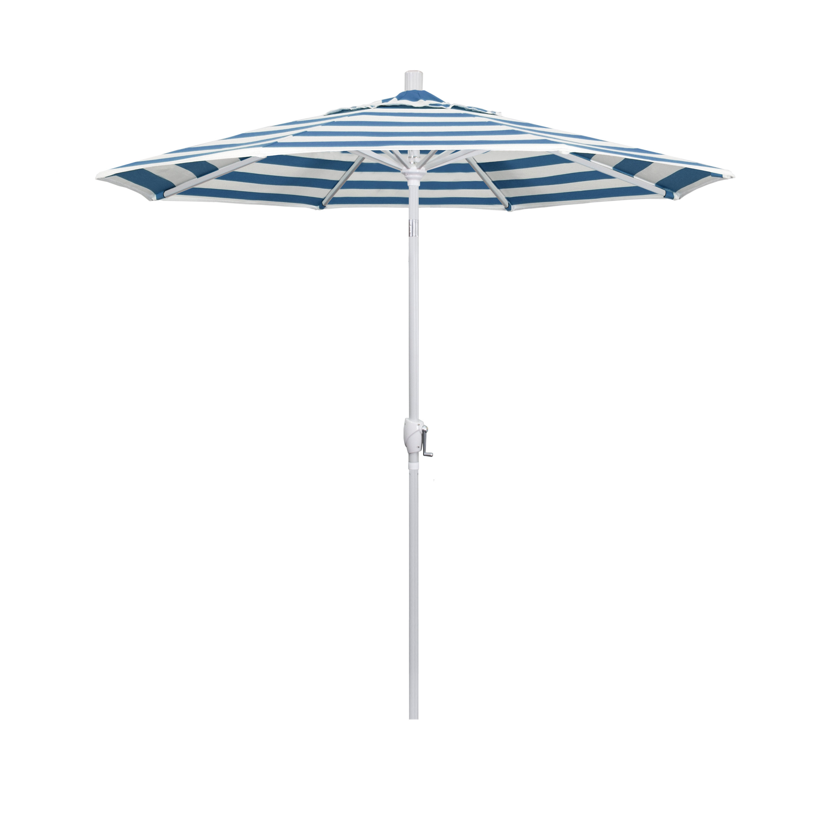 7.5' Market Sunbrella Umbrella Throughout 2019 Wiebe Auto Tilt Square Market Sunbrella Umbrellas (Gallery 12 of 20)