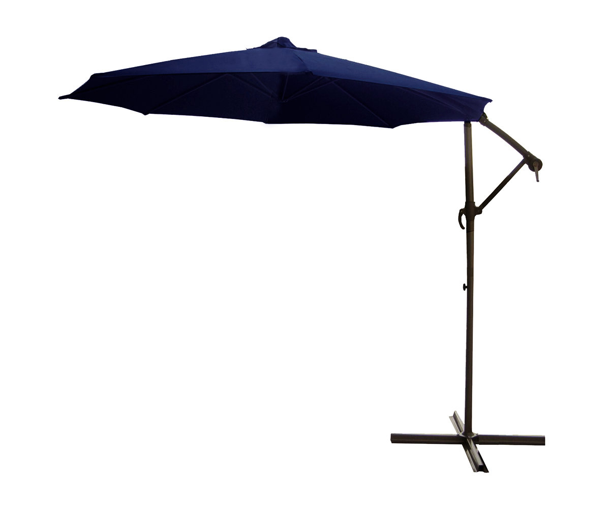 9.5' Cantilever Umbrella Throughout Well Known Trotman Cantilever Umbrellas (Gallery 18 of 20)