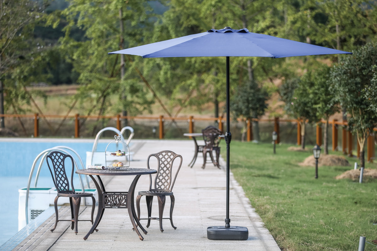 9' Market Umbrella Regarding 2019 Keltner Patio Outdoor Market Umbrellas (View 4 of 20)