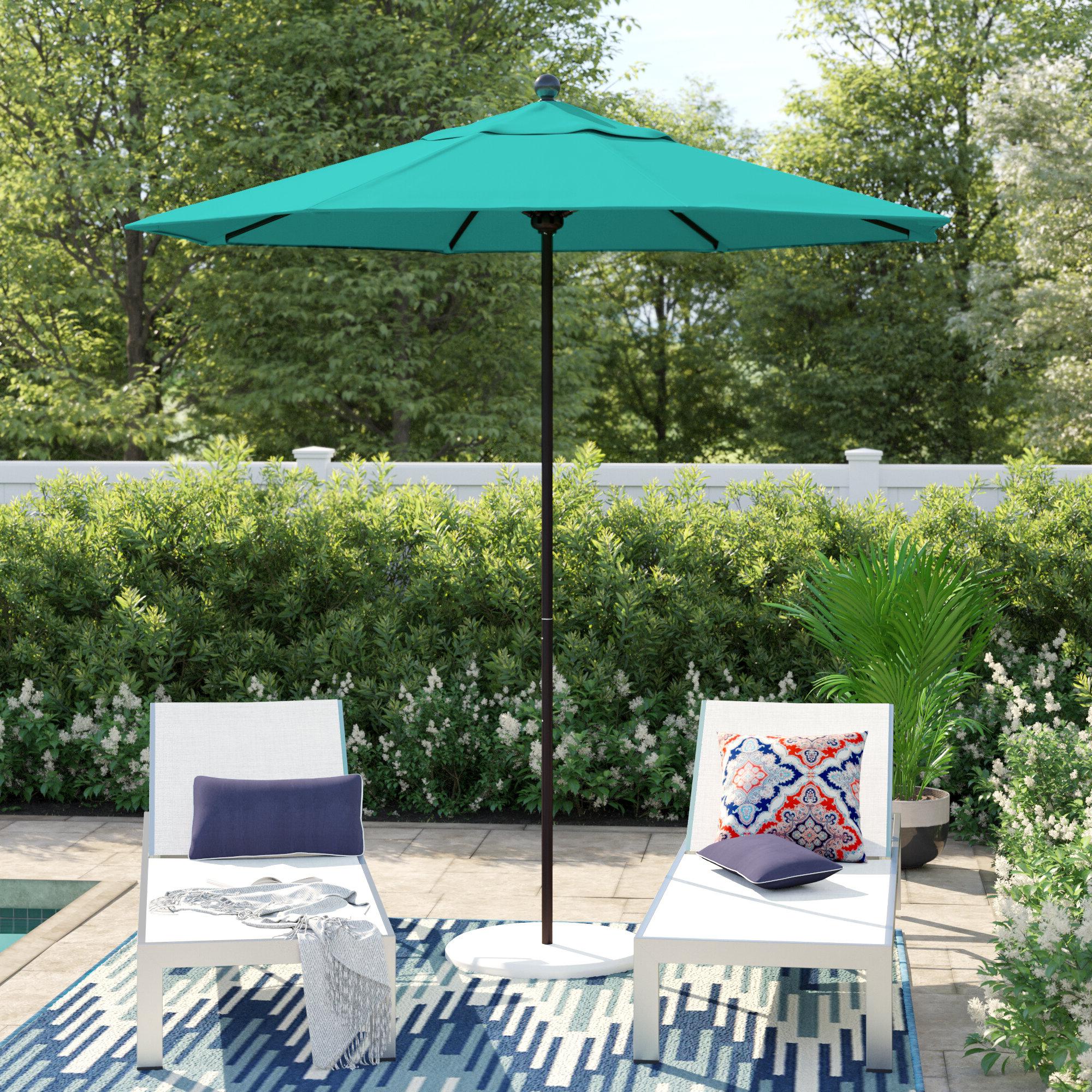 Aldan Market Umbrellas In Preferred Duxbury  (View 4 of 20)