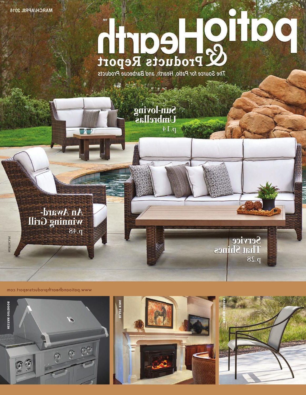 Alexander Elastic Rectangular Market Sunbrella Umbrellas Inside 2020 Patio & Hearth Products Report March April 2016peninsula Media (View 20 of 20)