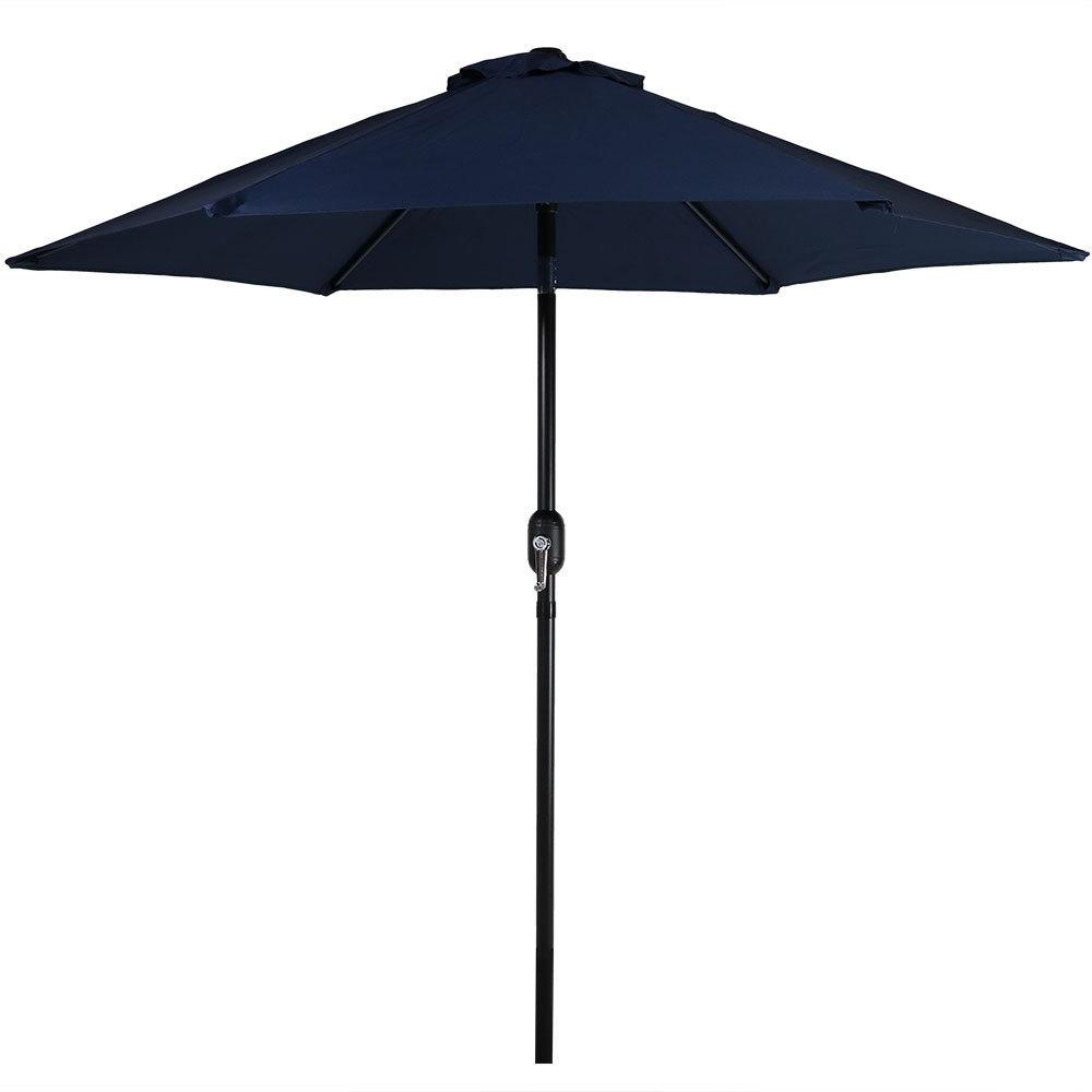 Allport 7.5' Market Umbrella Regarding Well Known Wetherby Market Umbrellas (Gallery 6 of 20)