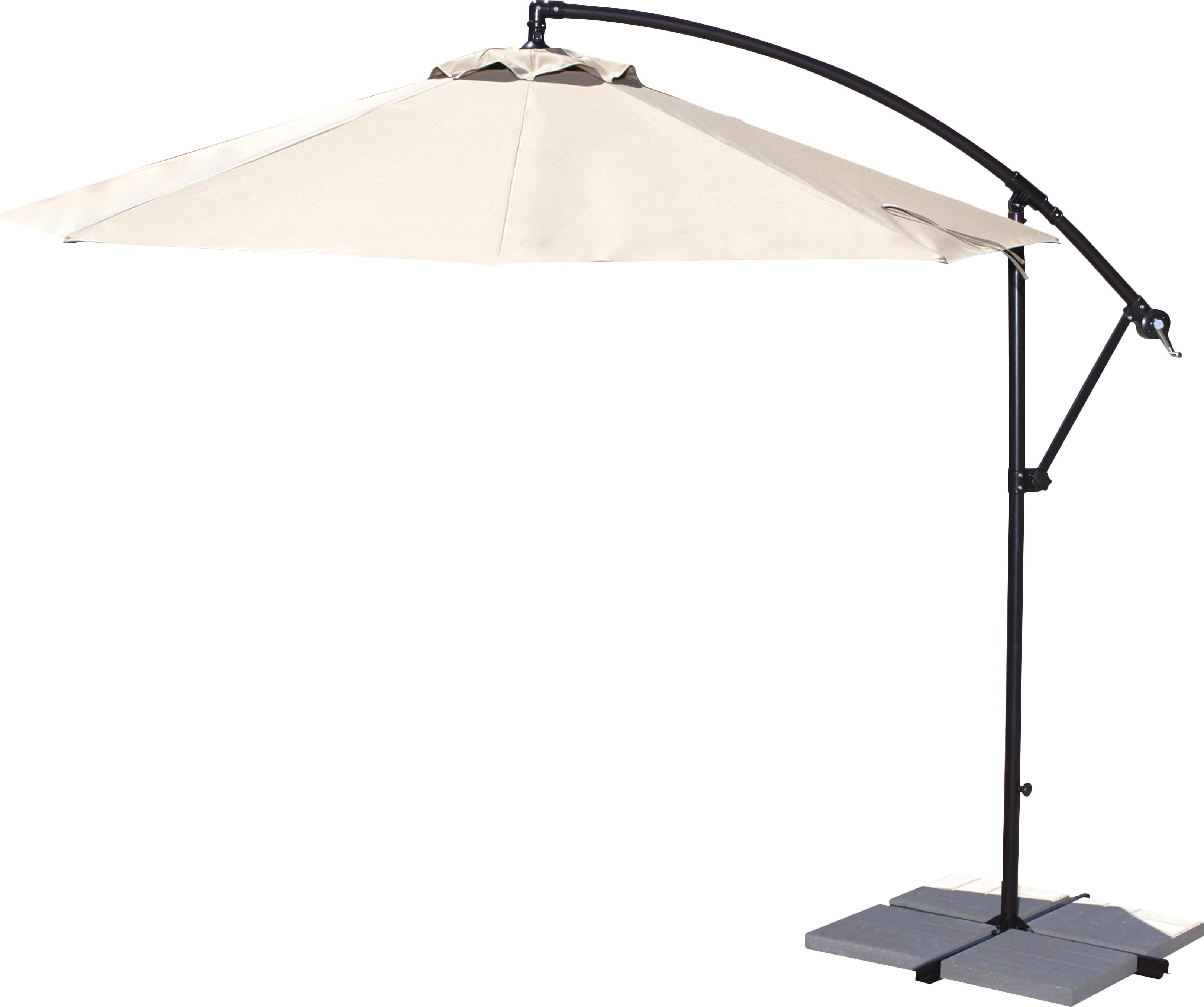 Alyssa Cantilever Umbrellas For Well Liked Ketcham 10' Cantilever Umbrella (View 18 of 20)