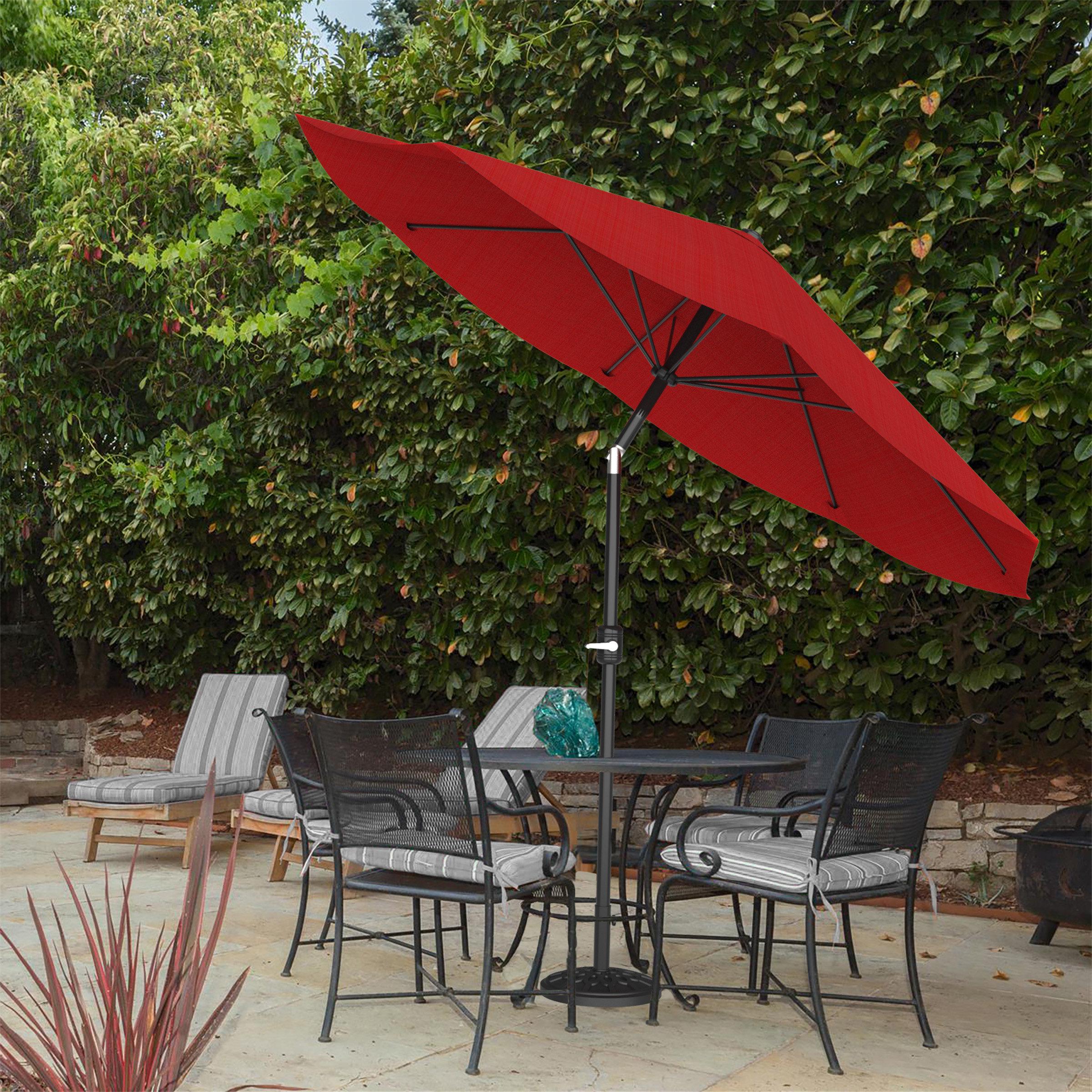 Annika Market Umbrellas In Popular Beachcrest Home Kelton 10' Market Umbrella & Reviews (View 4 of 20)