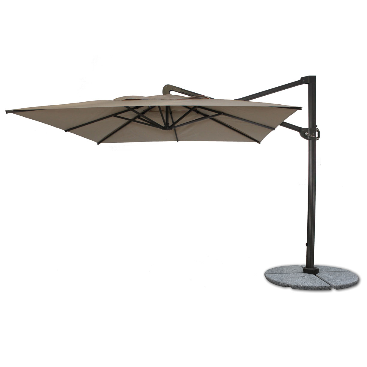 Anova Intended For Well Known Fordwich  Rectangular Cantilever Umbrellas (Gallery 10 of 20)