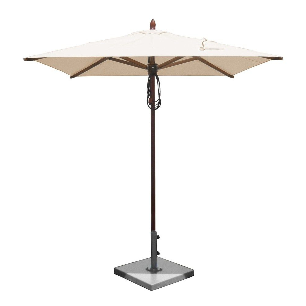 Artrip Market Umbrellas In Most Recently Released Greencorner Umbrellas Sq6565Qs2 6 5 Ft Square African Mahogany (Gallery 18 of 20)
