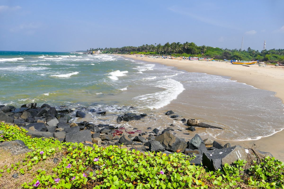 Auriville Beach Umbrellas Regarding Current These Top 8 Beaches In Pondicherry Are Every Beach Lover's Paradise (Gallery 8 of 20)