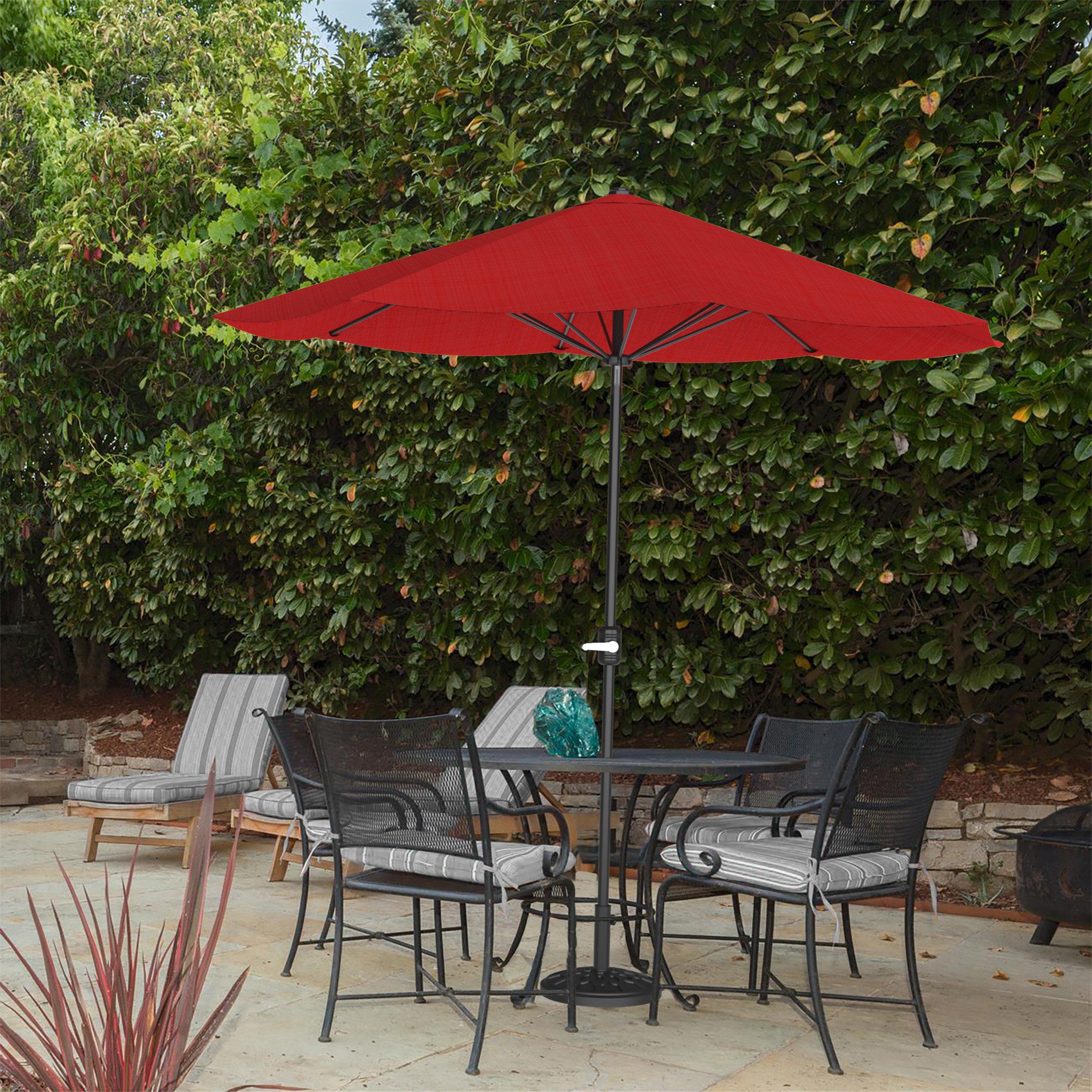 Beachcrest Home Kelton 9' Market Umbrella Within Popular Taube Market Umbrellas (View 15 of 20)