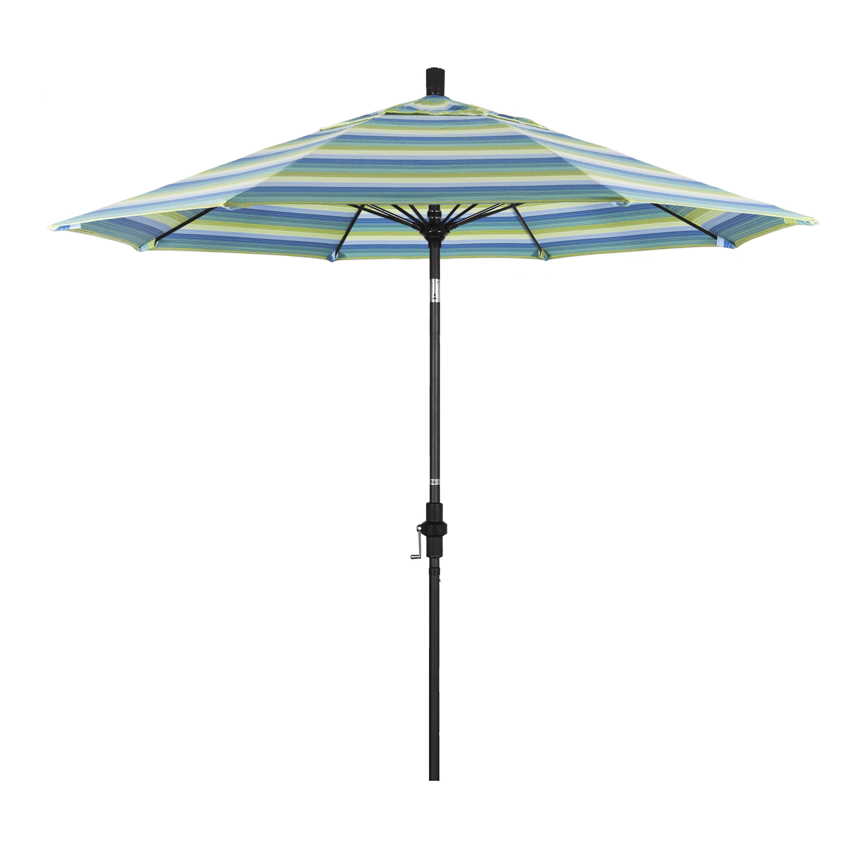 Beachcrest Home Muldoon 9' Market Sunbrella Umbrella In Recent Muldoon Market Umbrellas (View 3 of 20)