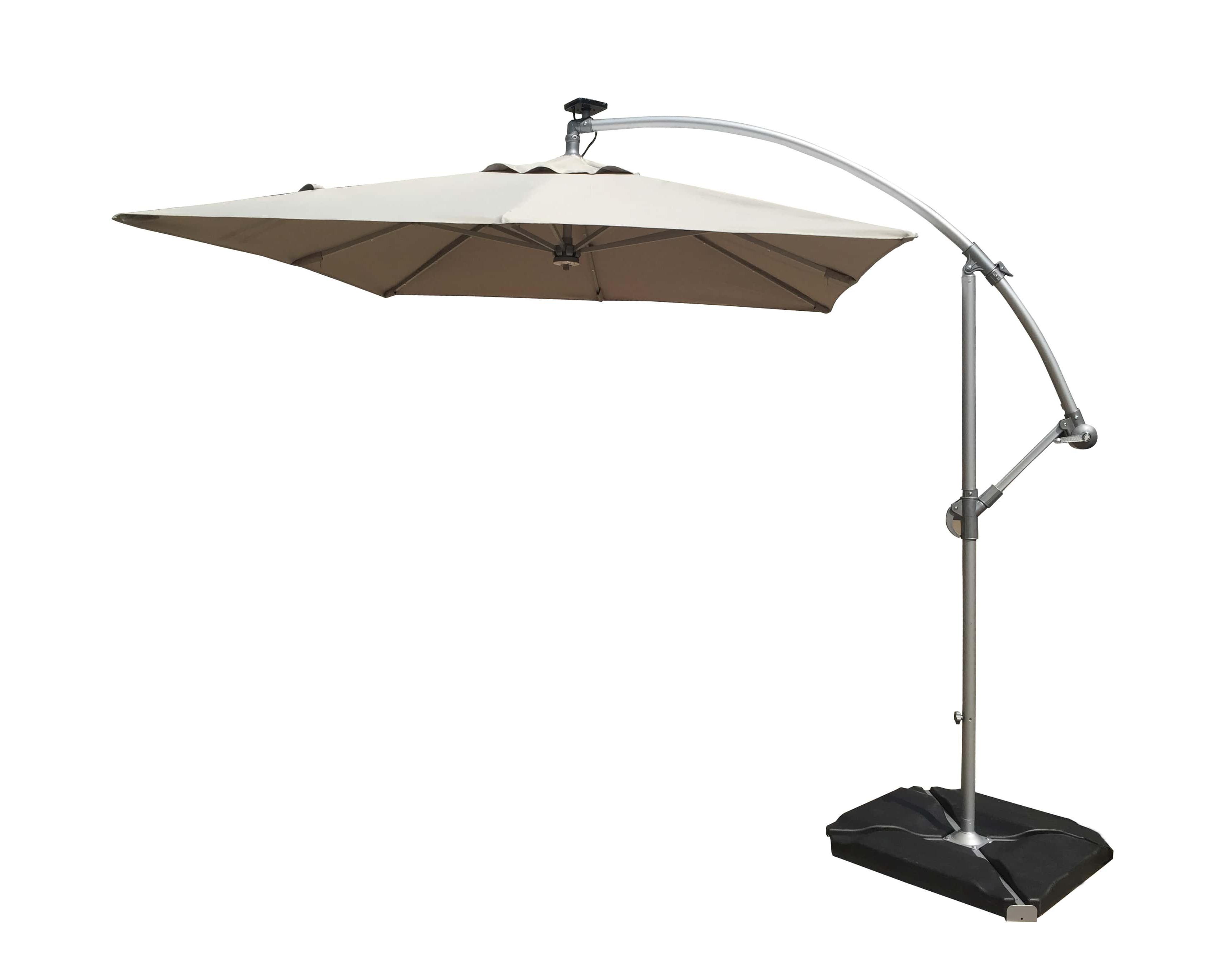 Best And Newest 8' Cantilever Umbrella For Fazeley Rectangular Cantilever Umbrellas (View 9 of 20)