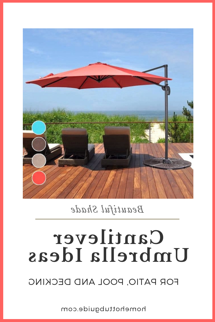 Best And Newest Best Cantilever Umbrella Reviews. Top Tips For Buying Patio For Macclesfield Square Cantilever Umbrellas (Gallery 8 of 20)