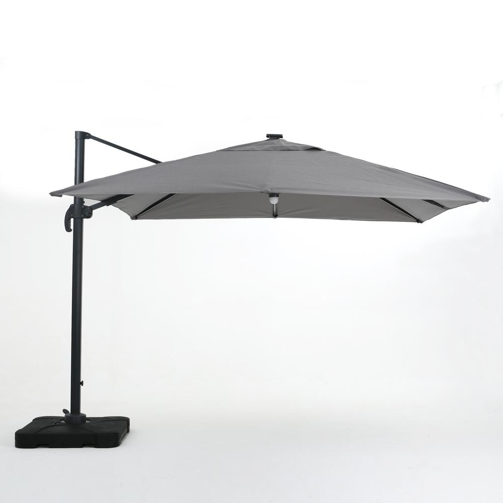 Best And Newest Cantilever Umbrellas For Noble House 9.71 Ft (View 4 of 20)