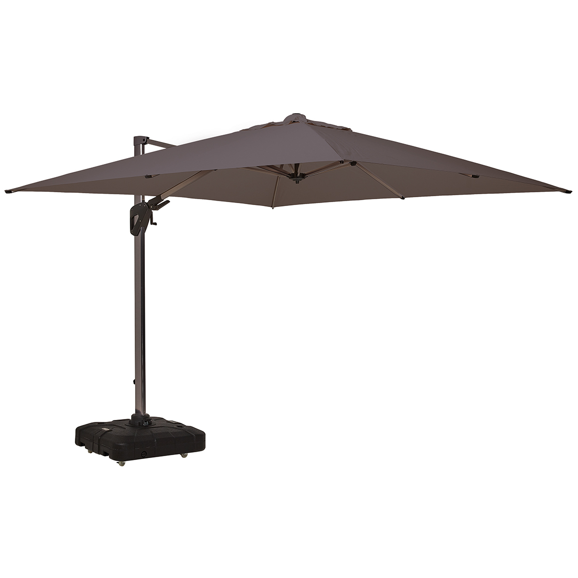 Best And Newest Coolaroo Cantilever Umbrellas With Regard To Melaleuca 3M Square Cantilever Umbrella (View 2 of 20)