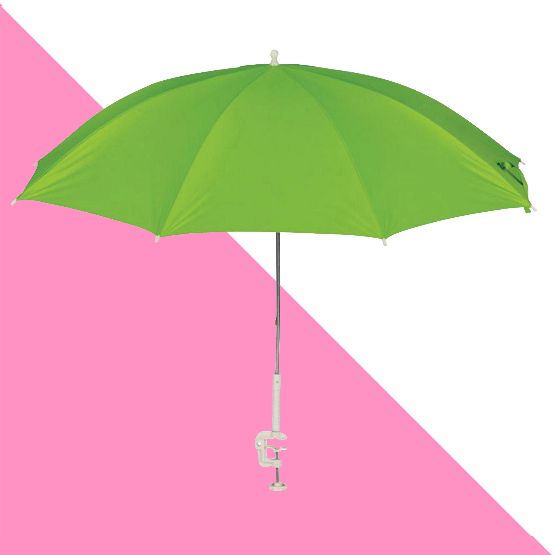 Best And Newest Dominic Clamp On Tiltable Assorted 4' Beach Umbrella With Bella Beach Umbrellas (Gallery 19 of 20)