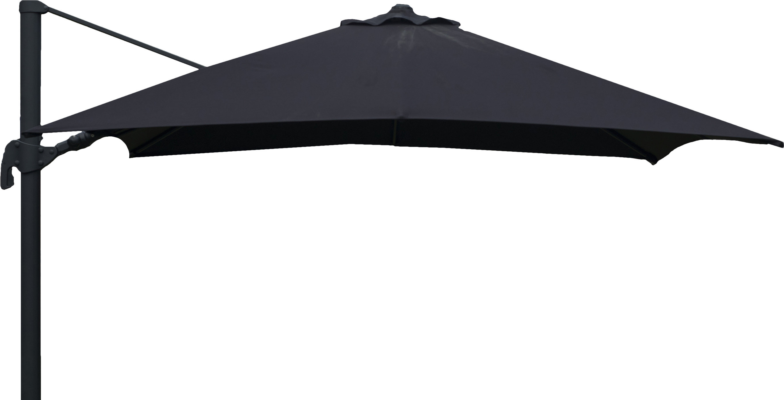 Best And Newest Grote Liberty Aluminum Square Cantilever Umbrella With Boracay Square Cantilever Umbrellas (View 11 of 20)