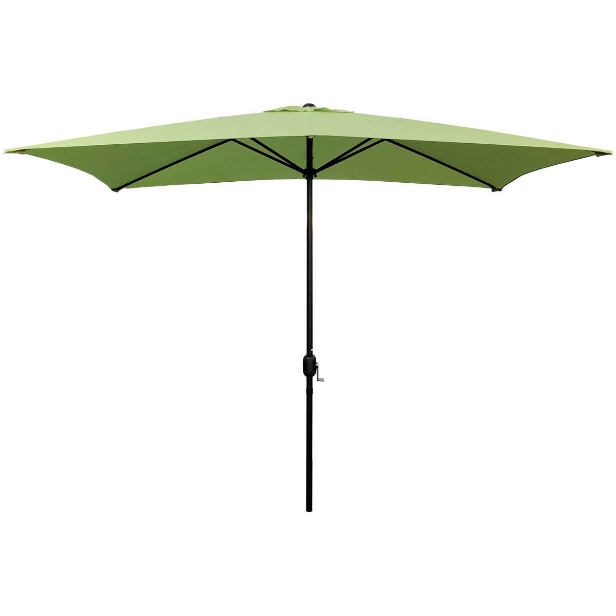 Best And Newest Hashtag Home Bradford 10' X 6.5' Rectangular Market Umbrella Regarding Bradford Patio Market Umbrellas (Gallery 4 of 20)