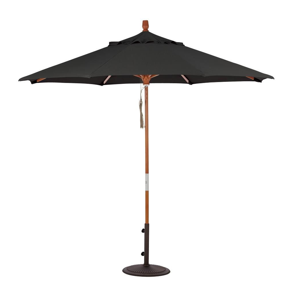 Best And Newest Home Decorators Collection 6 Ft. Quad Pulley Lift Patio Umbrella In Inside Lytham Cantilever Umbrellas (Gallery 7 of 20)