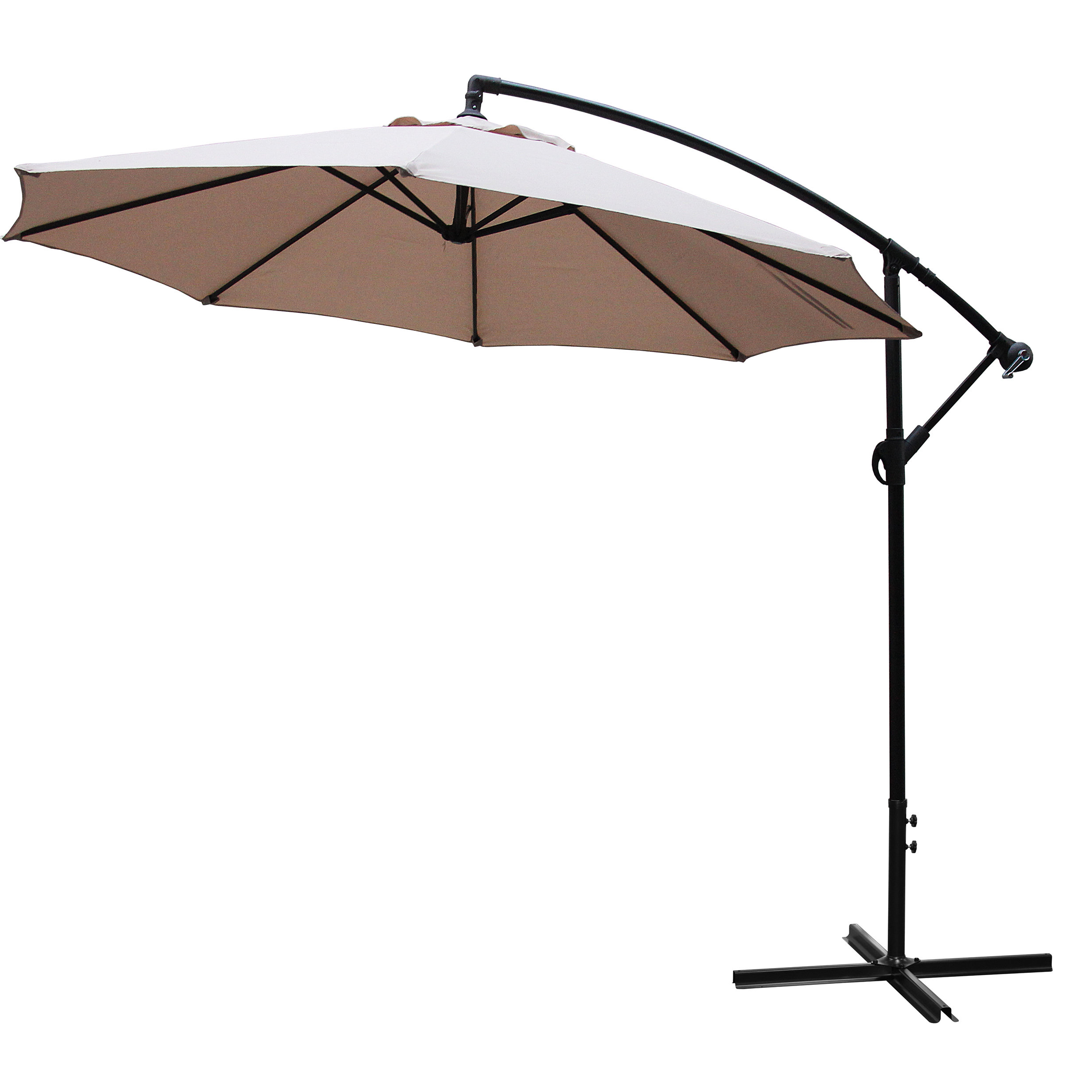 Best And Newest Iyanna Market Umbrellas Within Iyanna 10' Cantilever Umbrella (View 4 of 20)