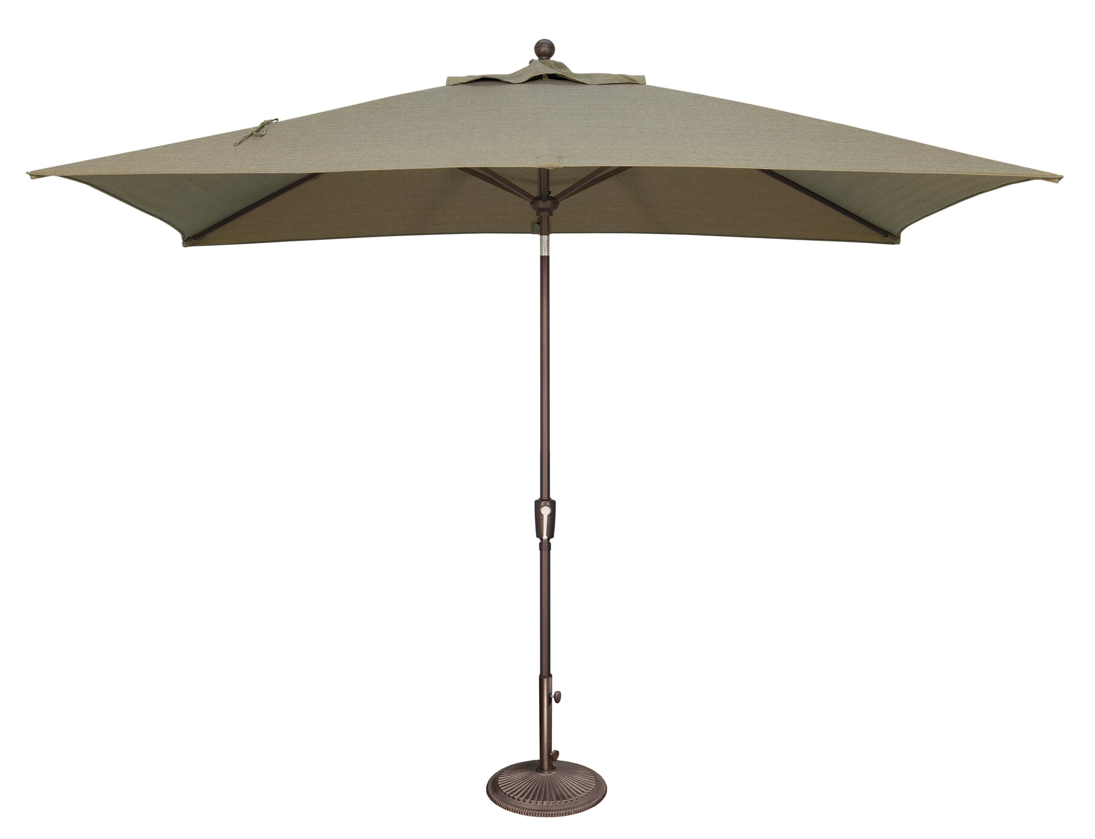 Best And Newest Launceston 10' X 6.5' Rectangular Market Umbrella Intended For Carina Market Umbrellas (Gallery 11 of 20)