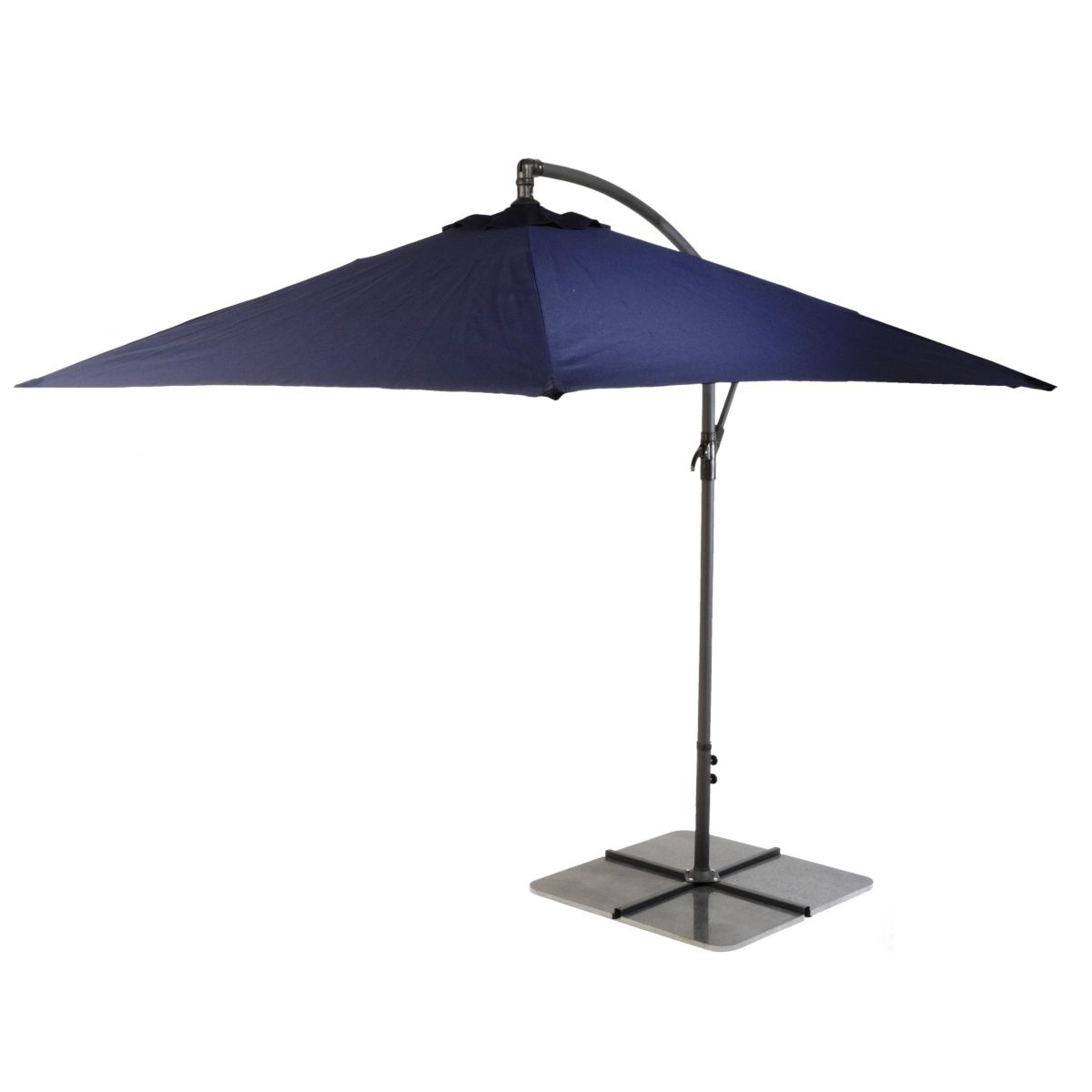 Best And Newest Maidenhead Cantilever Umbrellas Intended For Oaktree Garden Centre Glencrest Parasol Sturdi Plus Cantilever 3m (Gallery 17 of 20)