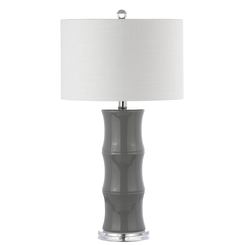 "Best And Newest Mercer41 Hershman Ceramic 27"" Table Lamp Throughout Fordbridge Rectangular Market Umbrellas (View 4 of 20)"