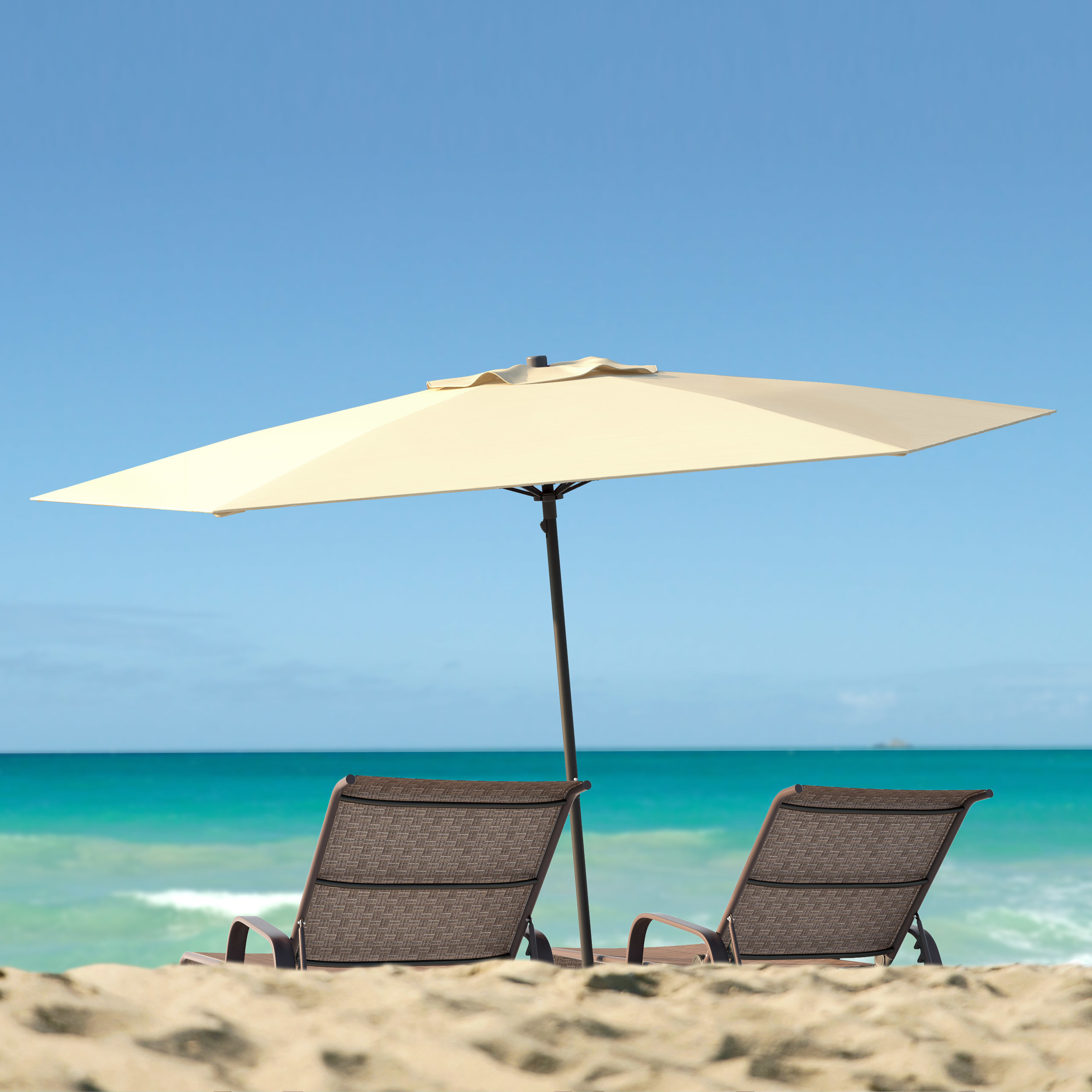 Best And Newest Smithmill 7.5' Beach Umbrella For Hyperion Beach Umbrellas (Gallery 8 of 20)