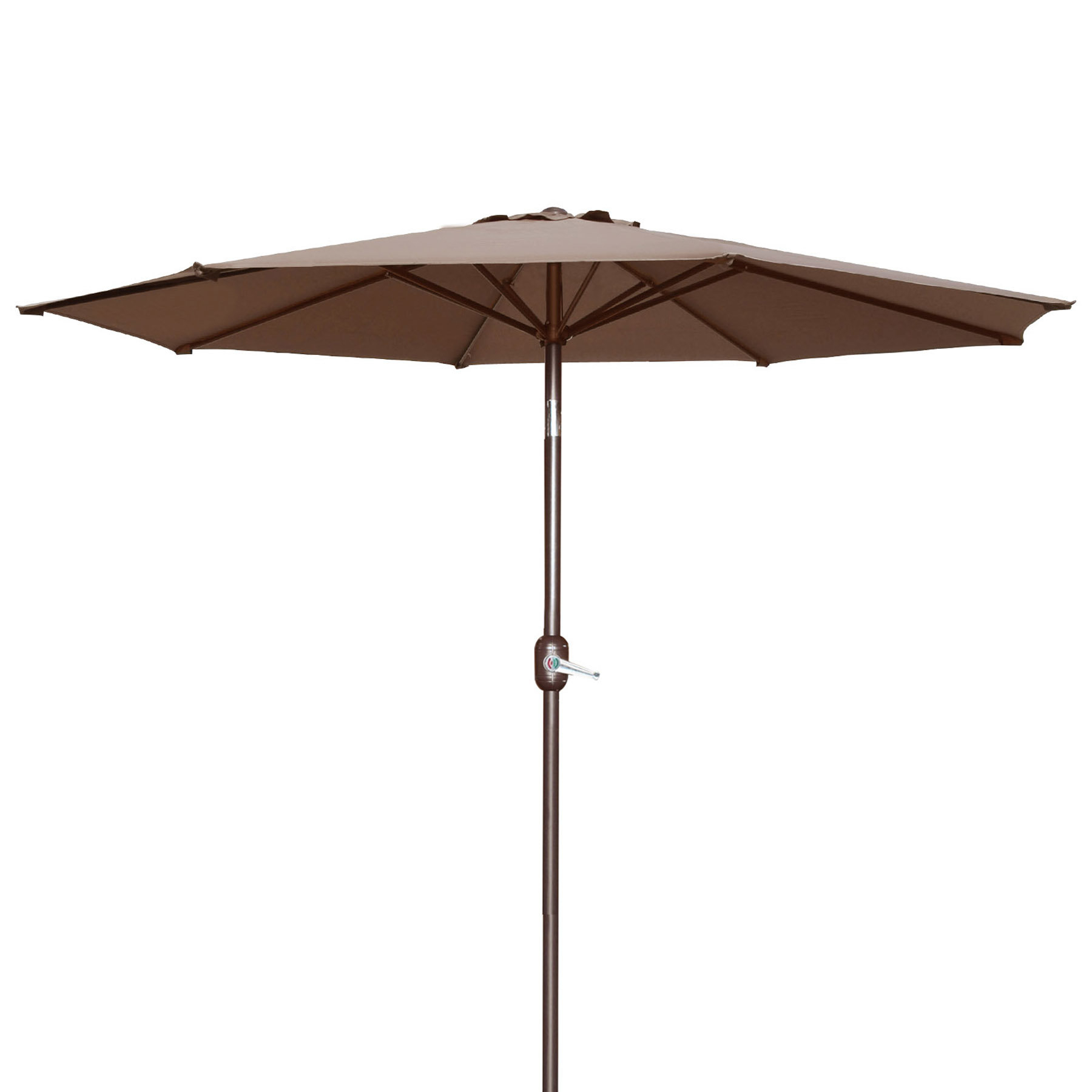 Best And Newest Wallach Market Sunbrella Umbrellas With Regard To Milligan Hexagonal Outdoor Garden Patio Market Umbrella (View 13 of 20)