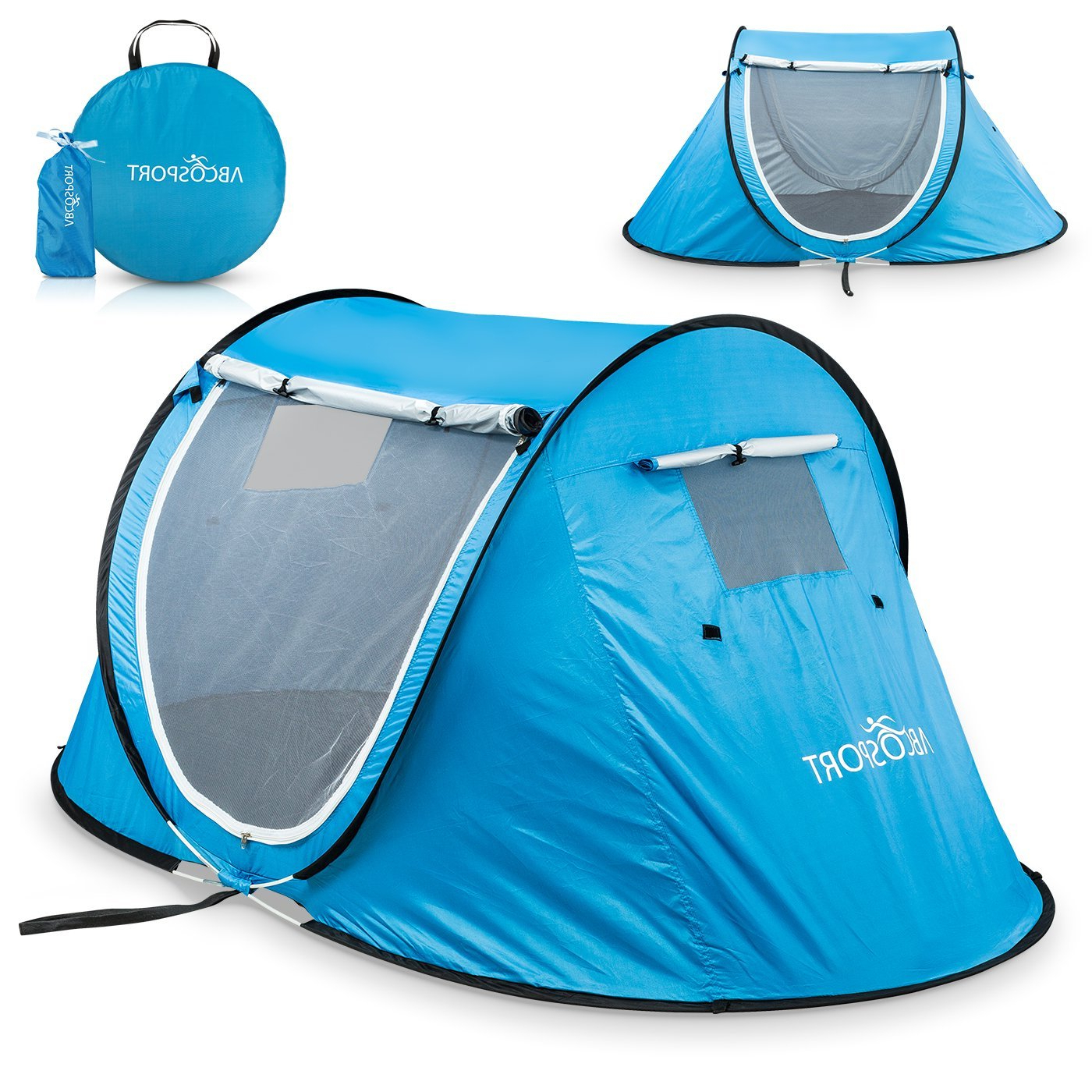 Best Beach Tents With Easy Pop Up 2019 In Most Popular Total Sun Block Extreme Shade Beach Umbrellas (View 19 of 20)