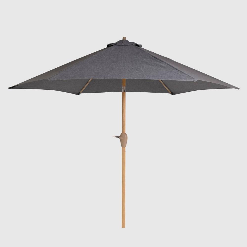 Bostic Cantilever Umbrellas Pertaining To Trendy 25 Patio Umbrella Pole Lights – Nocurveballs (Gallery 9 of 20)
