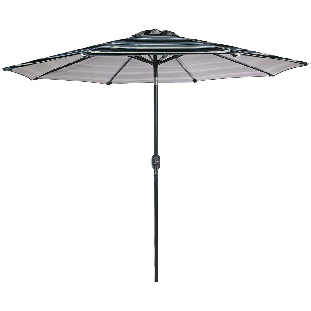 Bradford Rectangular Market Umbrellas With Regard To 2019 Annika 9' Market Umbrella (View 11 of 20)