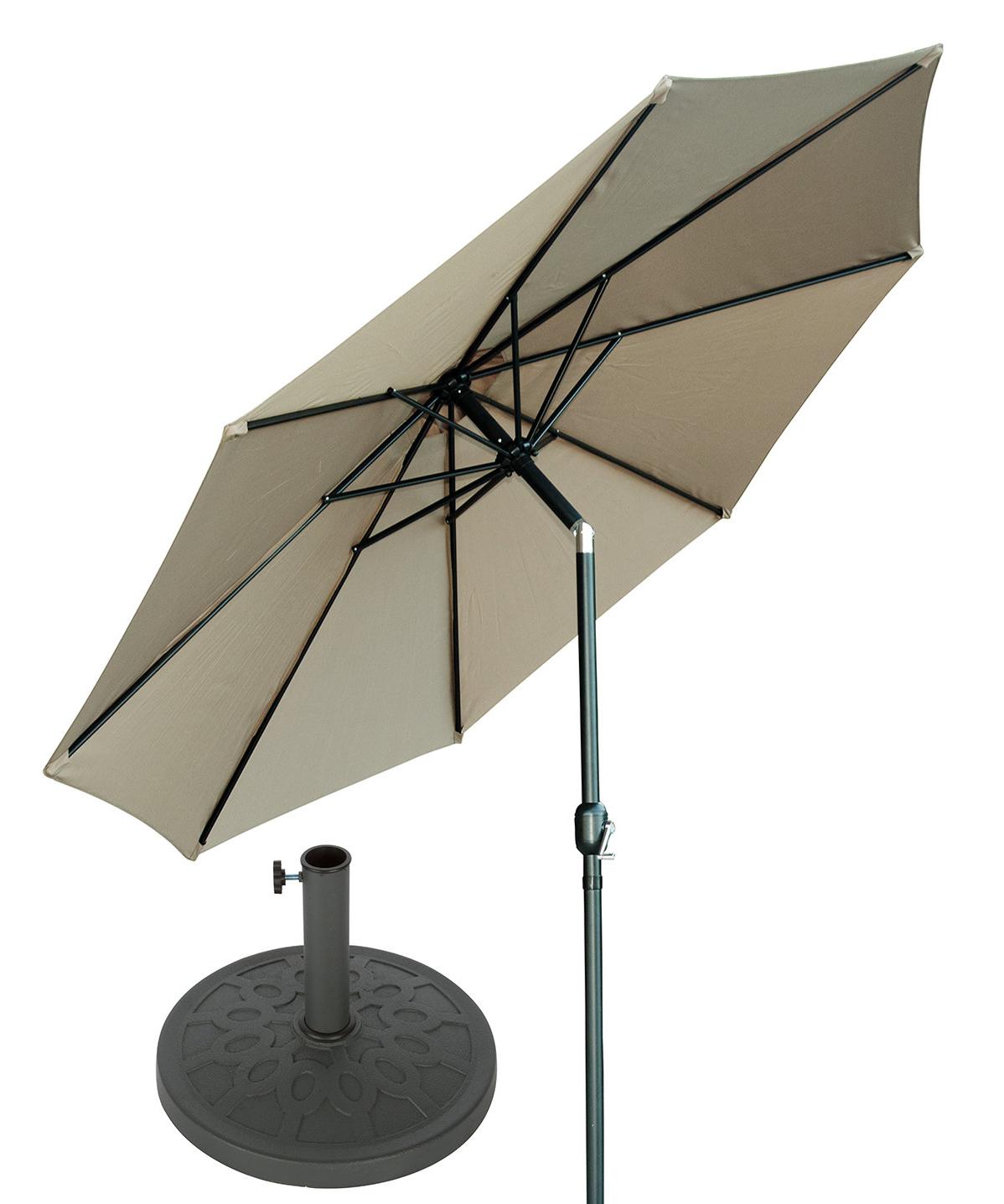 Brame Market Umbrellas In Well Known Brame 10' Market Umbrella (Gallery 1 of 20)