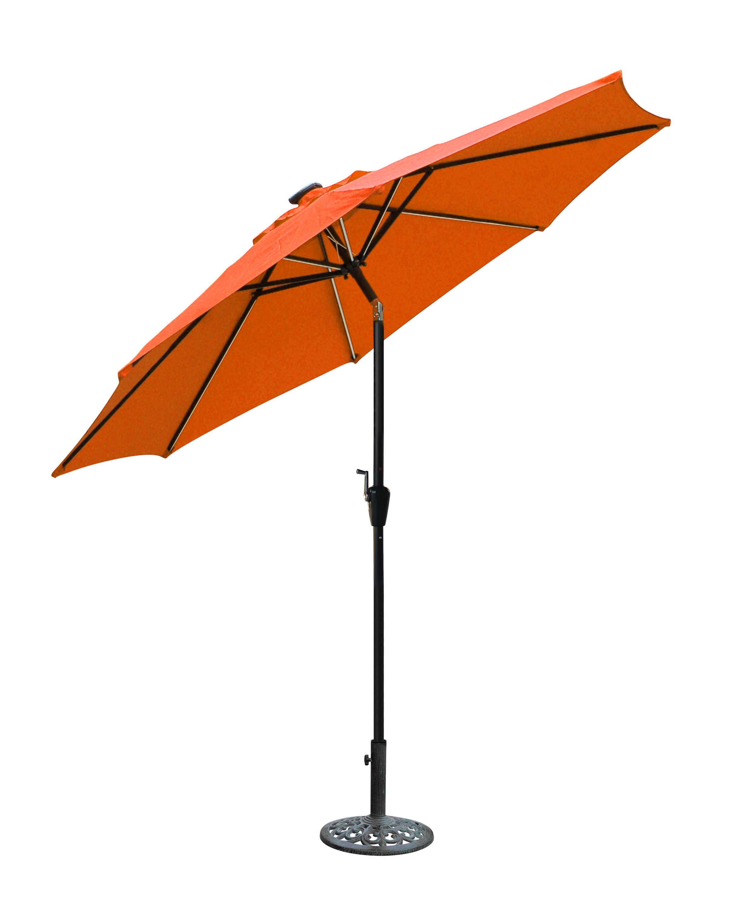 Branscum Lighted Umbrellas Intended For Trendy Sonora 8.5' Lighted Umbrella (Gallery 8 of 20)